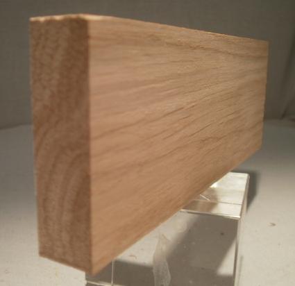 Eiche-Rechteckleiste 15x50 mm