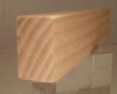 Esche-Rechteckleiste 10x20 mm