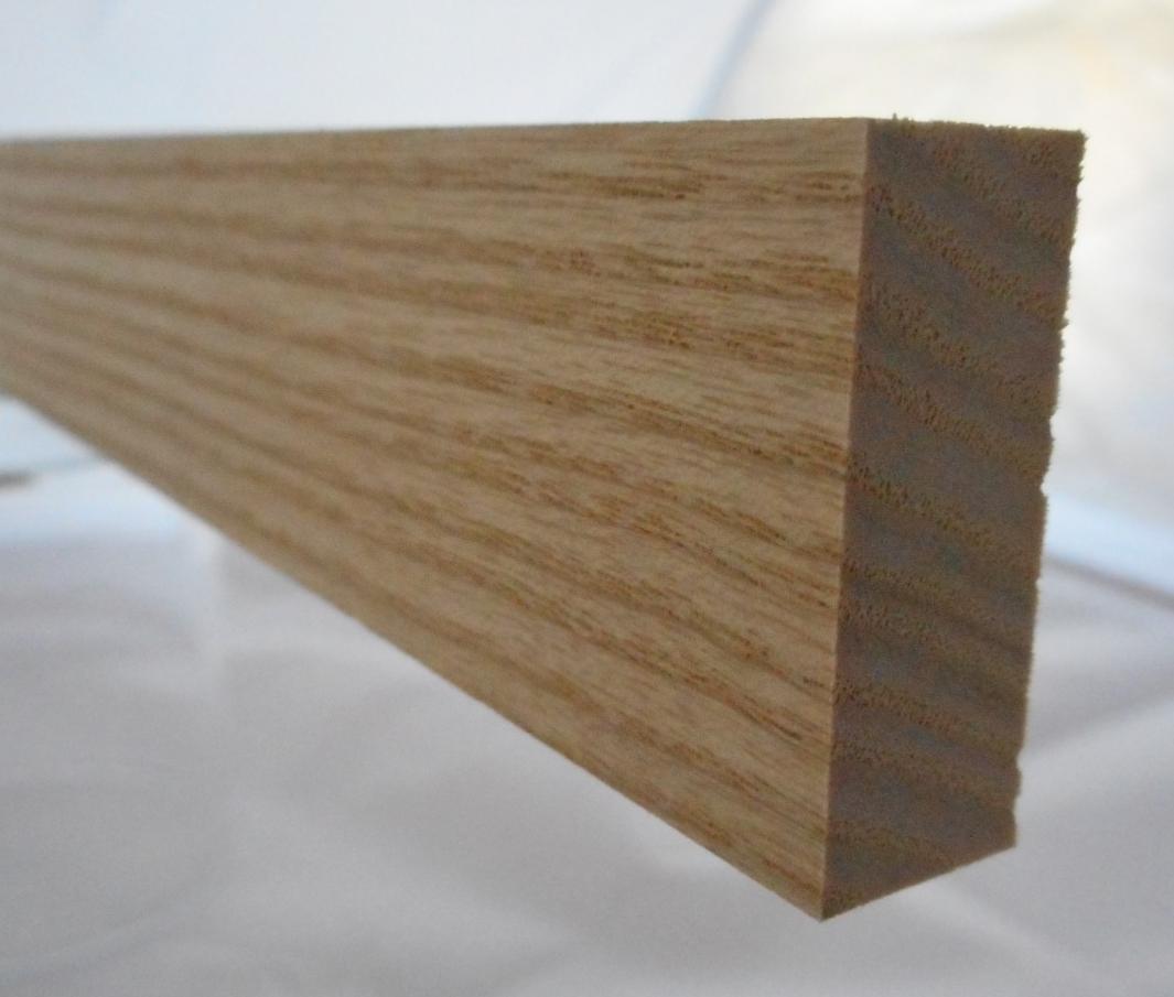 Esche-Rechteckleiste 12x30 mm
