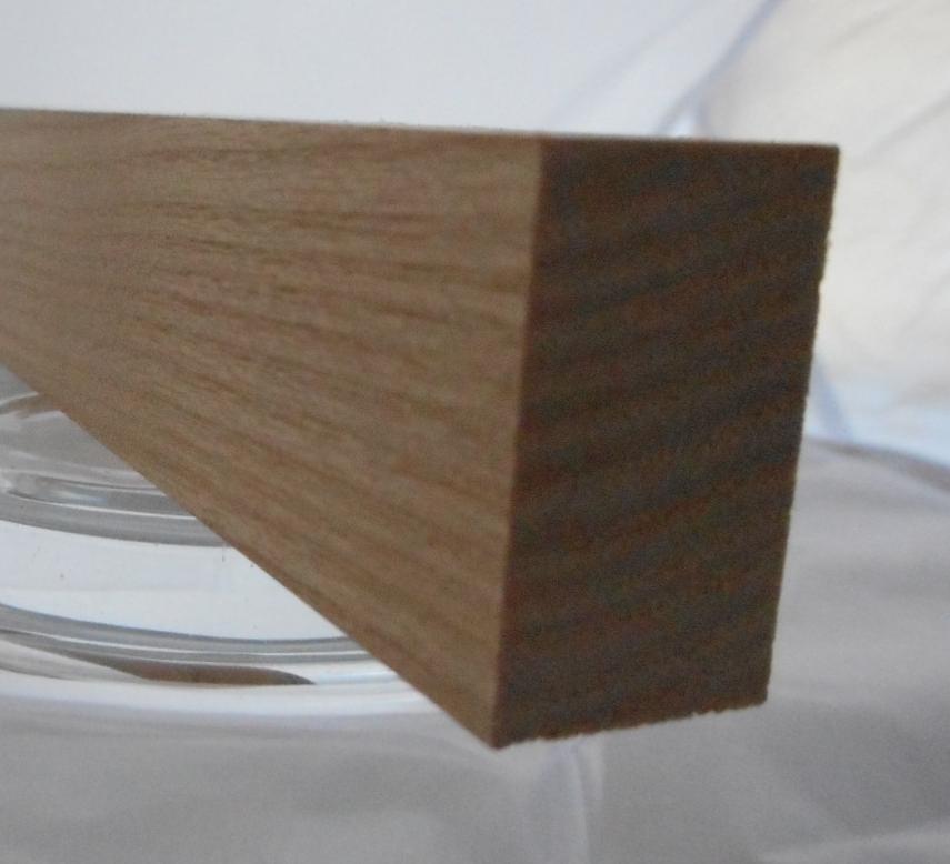 Esche-Rechteckleiste 15x25 mm
