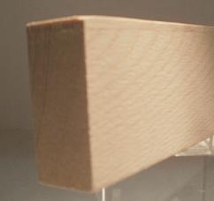 Esche-Rechteckleiste 20x40 mm