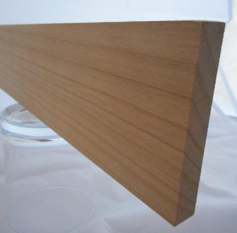 Kirschbaum-Rechteckleiste 10x60 mm