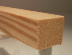 Lärche-Rechteckleiste 17x20 mm