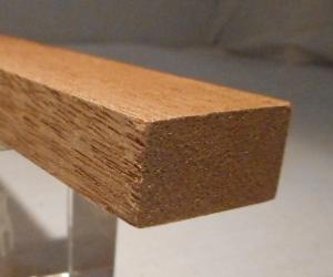 Meranti-Rechteckleiste 15x25 mm