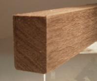 Nussbaum-Rechteckleiste 15x25 mm