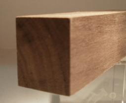 Nussbaum-Rechteckleiste 25x30 mm