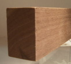 Nussbaum-Rechteckleiste 20x40 mm