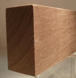 Nussbaum-Rechteckleiste 25x50 mm