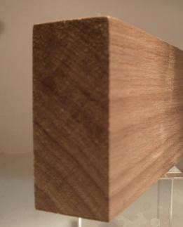 Nussbaum-Rechteckleiste 25x60 mm