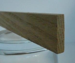Rüster-Rechteckleiste 5x20 mm (Ulme)