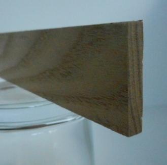 Rüster-Rechteckleiste 5x30 mm (Ulme)