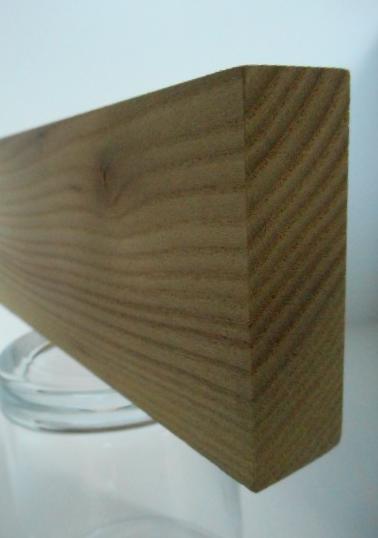 Rüster-Rechteckleiste 20x60 mm (Ulme)