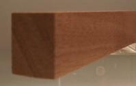 Sipo-Mahagoni-Rechteckleiste 15x20 mm