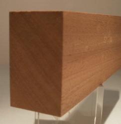 Sipo-Mahagoni-Rechteckleisten 30x50 mm