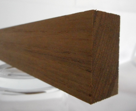 Teak-Rechteckleiste 20x35 mm