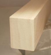 Yellow-Poplar-Rechteckleiste 25x35 mm