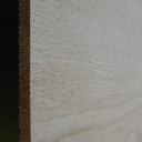 Eiche-Brettchen, 5mm stark, 100 mm breit, aus ca. 2 bis 4 Lamellen verleimt