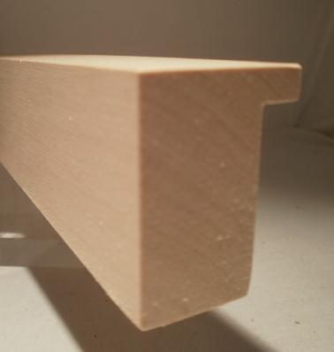 Ahorn-Bilderrahmenleiste, 30 mm breit, 40 mm hoch