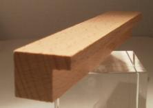 Leistenfoto Buche-Bilderrahmenleiste LBUBI-025020, 25mm breit, 20mm hoch