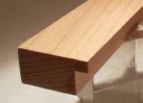 Buche-Bilderrahmenleiste, 40 mm breit, 20 mm hoch
