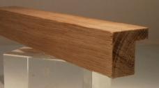 Eiche-Bilderrahmenleiste, 20 mm breit, 20 mm hoch