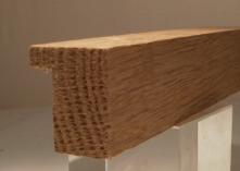 Eiche-Bilderrahmenleiste, 20 mm breit, 30 mm hoch