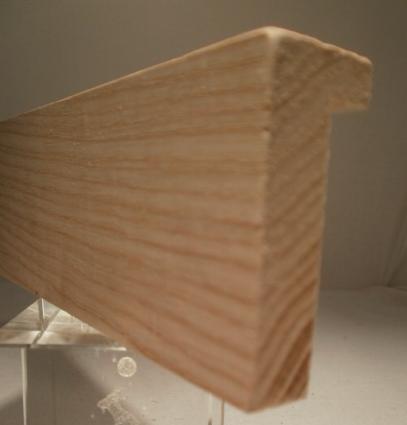 Esche-Bilderrahmenleiste, 20 mm breit, 50 mm hoch