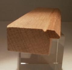 Foto von Bilderrahmenleisten - Massivholzleisten für die Herstellung von Bilderrahmen