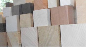 Holzleisten-Bild von Quadratstab