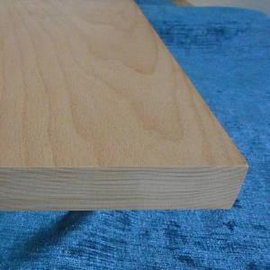 Massives Buche-Brett aus einem Stück, 30mm stark, scharfkantig