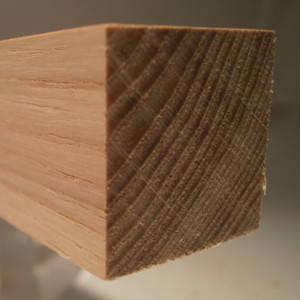 Quadratstab, quadratische Holzleisten