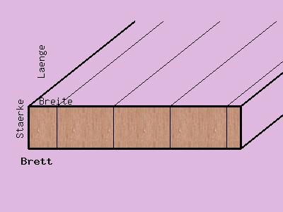 Ahorn-Brett, 30mm stark, 320 mm breit, aus ca. 5 bis 8 Lamellen verleimt