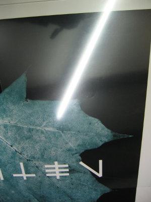 Ansicht Reflex-Control-Glas (Verbessertes Antireflexglas)